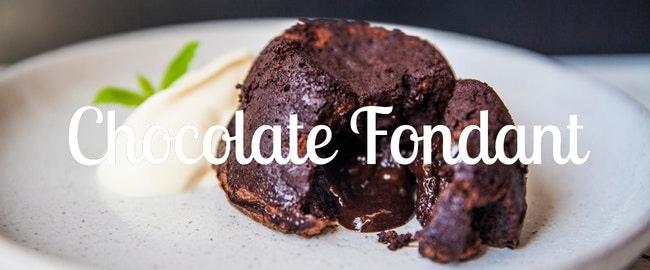 Chocolate fondant, qué es y cómo se hace